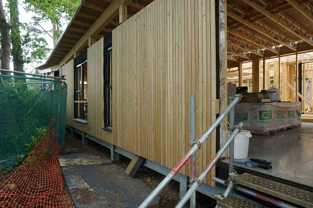 Timber Frame School Classroom in Poole