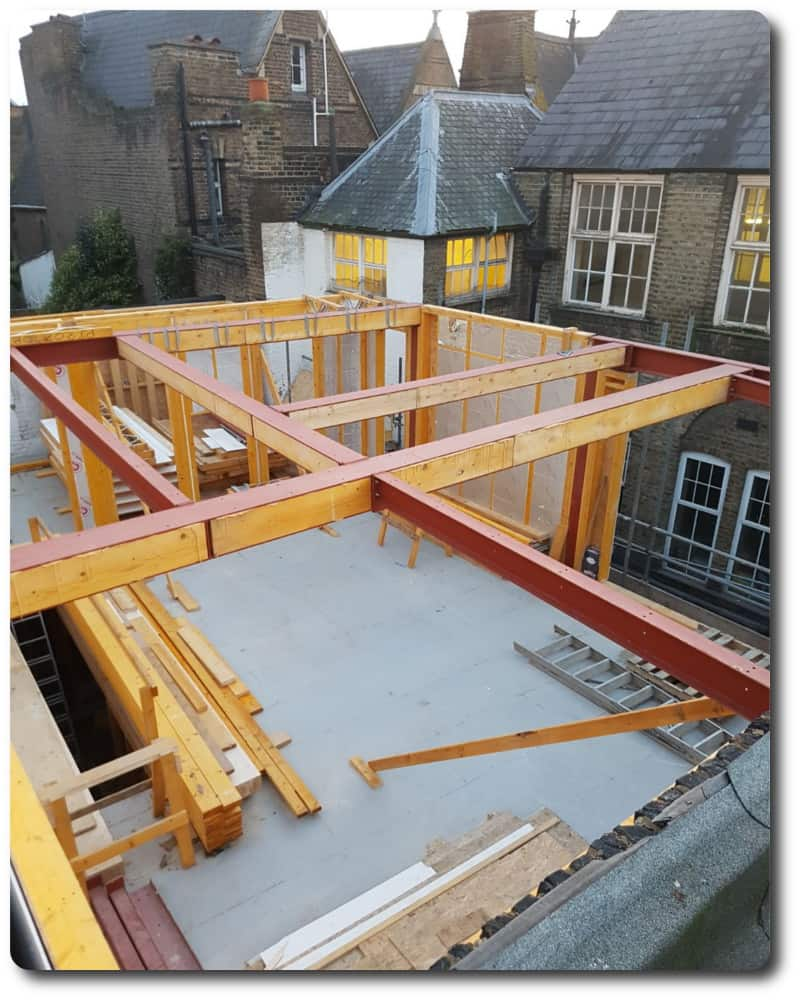New Build Timber Frame in London