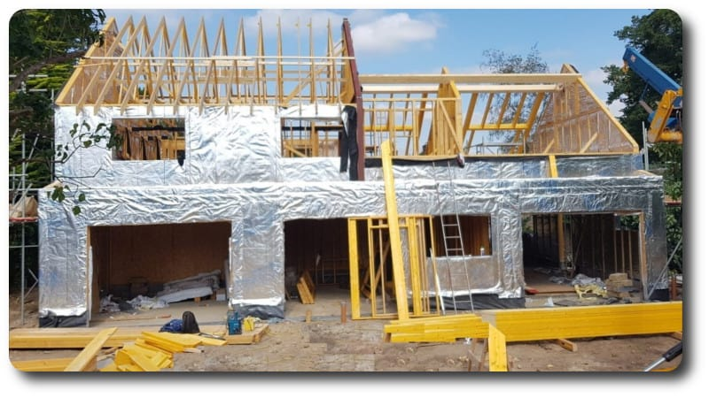 New Build Timber Frame Home in Henley