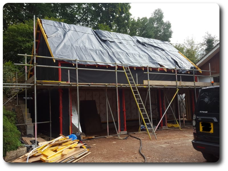 Self Build House in Bradfield West Berkshire